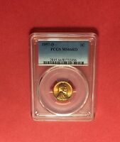 1957 D  UNCIRCULATED LINCOLN CENT  PCGS ,CERTIFIED BY MS66 REDVERY NICE COIN.