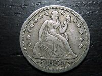 1854 ARROWS SEATED LIBERTY DIME     MAKE US AN OFFER  O8919