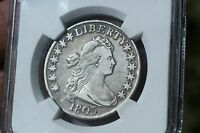 1803 DRAPED BUST HALF DOLLAR 50C O-102A - NGC VF DETAILS -  CERTIFIED COIN