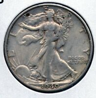 1940 S WALKING HALF DOLLAR  COLLECTOR GRADE COIN BUY IT NOW SHIPS FREE