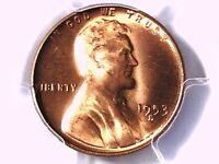 1953 S LINCOLN WHEAT CENT PCGS MS 65 RD 33349358