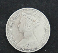 ANTIQUE COIN ONE TENTH OF A POUND   ONE FLORIN COIN DATED 1880