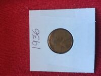 1936 1C RD LINCOLN WHEAT ONE CENT