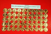 1955 D BU ORIGINAL UNCIRCULATED SEALED 50 COIN ROLL LINCOLN WHEAT CENT PENNIES