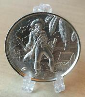 PRIVATEER THE CAPTAIN 2 OZ 0.999 SILVER ULTRA HIGH RELIEF ROUND COIN BULLION