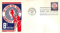 1041 8C STATUE OF LIBERTY, FIRST DAY COVER CACHET [D165537]