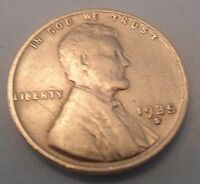 1935 S LINCOLN WHEAT CENT / PENNY  SDS