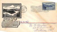 745 6C CRATER LAKE, FIRST DAY COVER CACHET [E132743]
