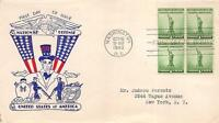 899 1C DEFENSE, FIRST DAY COVER CACHET [E133071]