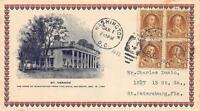 709 4C WASHINGTON BICENTENNIAL, FIRST DAY COVER CACHET [E179691]