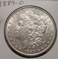 1889 O MORGAN SILVER DOLLAR  HIGH GRADE KEY DATE US SILVER COIN