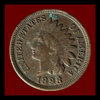 1898 P INDIAN CENT SHIPS FREE. BUY 5 FOR $2 OFF