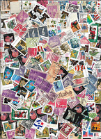 ONE OUNCE OF STAMPS OFF PAPER OR CLOSELY CROPPED 40