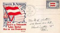 919 5C AUSTRIA, FIRST DAY COVER CACHET [D149123]