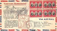 703 2C YORKTOWN, FIRST DAY COVER CACHET [E191156]