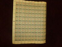 MINT NH UNITED STATES SHEET SCOTT  702