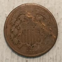 1871 2C TWO CENTS VG