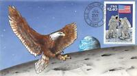 2419 $2.40 PRIORITY MAIL, HAND PAINTED FDC FIRST DAY COVER H/P [E191943]