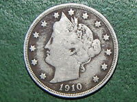 1910 LIBERTY NICKEL  COIN   205