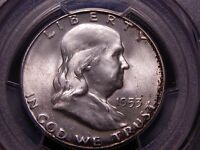 1953 S FRANKLIN HALF DOLLAR PCGS MS 66  IN THIS GRADEBEAUTIFUL SILVER COIN