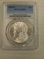 1900 O PCGS MS 62 UNC SILVER MORGAN DOLLAR $1 US ITEM B