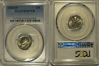 2013 D ROOSEVELT DIME 10C  PCGS MS67FB FULL BANDS