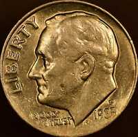 1983 ROOSEVELT DIME UNCIRCULATED