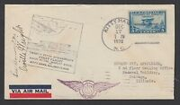 ORVILLE WRIGHT AUTOGRAPH ON 25TH ANNIV OF FIRST FLIGHT COMBO COVER, DEC 17, 1928