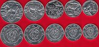 KATANGA SET OF 5 COINS: 1   100 FRANCS 2017