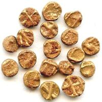 ONE WORLD'S SMALLEST GOLD COIN OF VIJAYANAGAR EMPIRE INDIA HINDU EMPIRE TINY