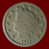 1911 P LIBERTY NICKEL SHIPS FREE. BUY 5 FOR $2 OFF