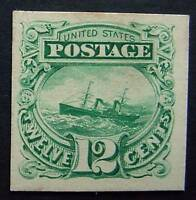 USA, SCOTT 117P4, PLATE PROOF ON CARD STOCK