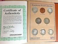 1971S,1972S,1973S,1974S,1976S,977S,1978 S EISENHOWER PROOF SET DOLLARS