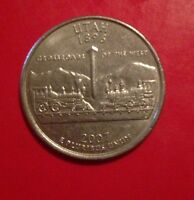 2007 P UTAH 50 STATES QUARTER BUY 6 GET 40 OFF A26