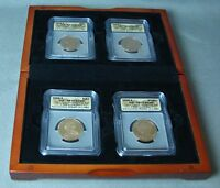 2008-S 4 COIN PRESIDENTIAL SET IN DISPLAY BOX ICG-PR70 DCAM