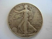 VERY NICE BETTER DATE 1941 D WALKING LIBERTY HALF IN VF CONDITION. 1