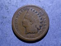 1864 BRONZE INDIAN CENT GOOD