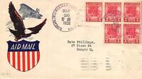 645 2C VALLEY FORGE, 1ST GARFIELD PERRY STAMP CLUB CACHET [E233103]