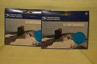 2 BOOKLETS OF US NAVY SUBMARINES STAMPS USPS UNOPENED
