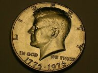 1976 P JOHN KENNEDY HALF DOLLAR UNCIRCULATED  FROM MINT SET