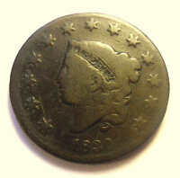 1830 LARGE CENT N4 R3   VARIETY NICE