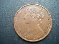 GREAT BRITAIN ONE PENNY 1862