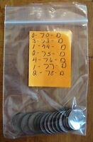 LOT OF 15 COINS D   PENNIES DATE RANGE OF 1970 1978