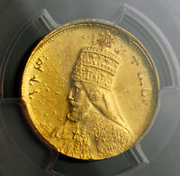 Click now to see the BUY IT NOW Price! 1927  EE 1921  ETHIOPIA. GOLD MULE PRESENTATION WERK PATTERN COIN. PCGS SP 63