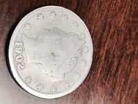 1902 LIBERTY NICKEL 5C-- 115 YEAR OLD COIN