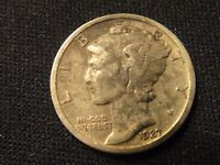 1927 P CIRCULATED MERCURY SILVER DIME