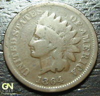 1864 L INDIAN HEAD CENT PENNY     MAKE US AN OFFER  O5535