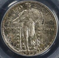 1924-D 25C STANDING LIBERTY QUARTER PCGS MINT STATE 65