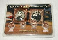 2009 LINCOLN CENT ANNIVERSARY SET PENNY COIN BICENTENNIAL DESIGN SEALED
