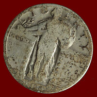 1928-S STANDING LIBERTY 90 SILVER QUARTER SHIPS FREE. BUY 5 FOR $2 OFF